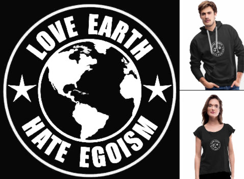 love earth shirts logo