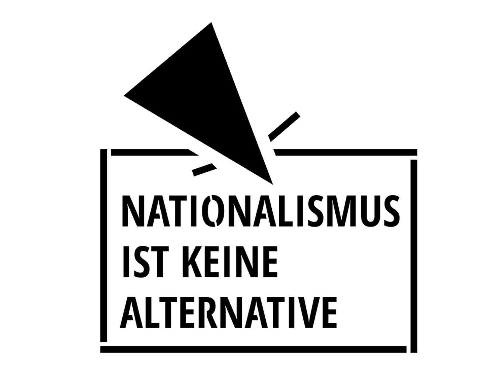 nationalismus ist keine alternative stencil