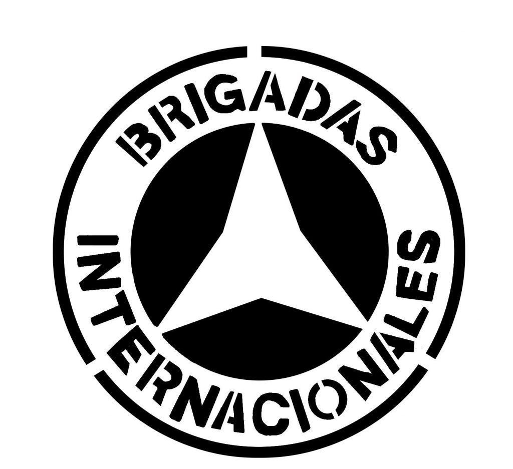 brigadas internacionales stencil