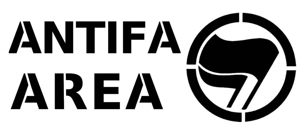 antifa area stencil