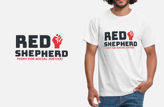 red-shepherd shirt